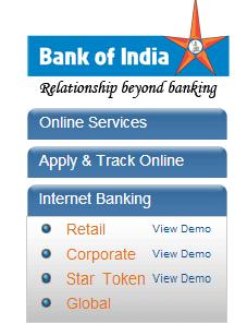 Bank of maharashtra internet banking form