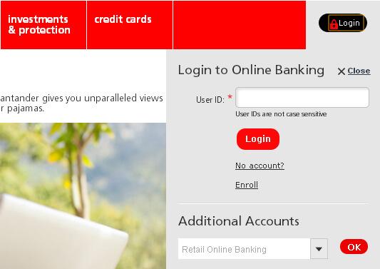 Santander online banking santander online banking login reheart Gallery