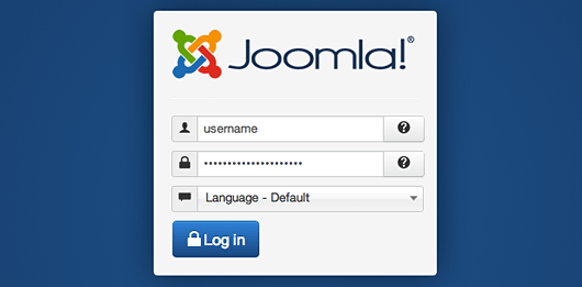Sign in Joomla: Login Joomla Admin Account