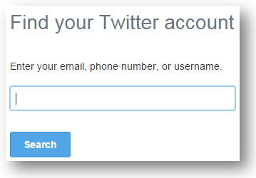 Twitter Login Account